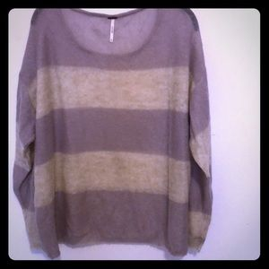 Free People knit long sleeve sweater